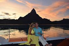 GeoLuxe Travel | couple in Moorea and Bora Bora | Luxury Travel Consultant