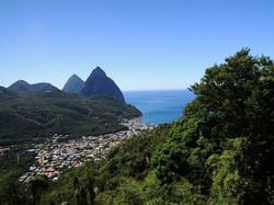 Custom Caribbean Vacation | GeoLuxe Travel LLC | aerial view of a Caribbean island