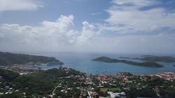 Custom Caribbean Vacation | GeoLuxe Travel LLC | aerial view of Caribbean island