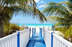 Custom Caribbean Vacation | GeoLuxe Travel | path leading to the ocean