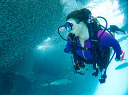 Custom Caribbean Vacation | GeoLuxe Travel | woman scuba diving