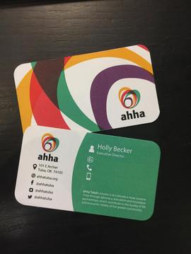 AHHA Business Card