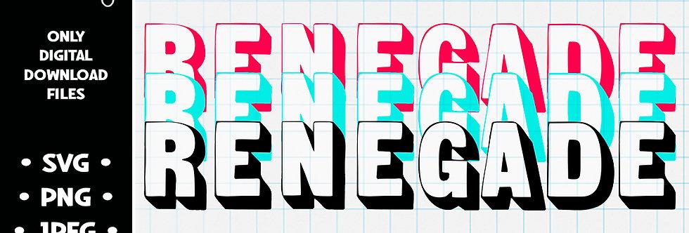 Renegade • SVG PNG JPEG