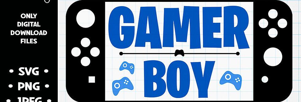 Gamer Boy • SVG PNG JPEG
