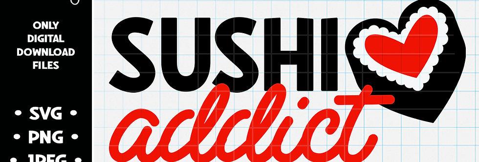 Sushi Addict • SVG PNG JPEG