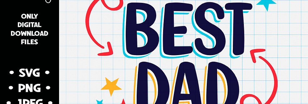 World's Best Dad • SVG PNG JPEG