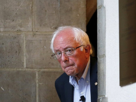 Should it take a head injury to figure this out, about Senator Bernie Sanders?