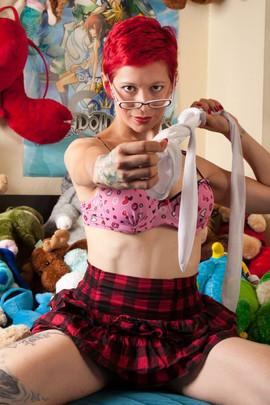 Lady Dori Belle AKA Susan MeeLing ready