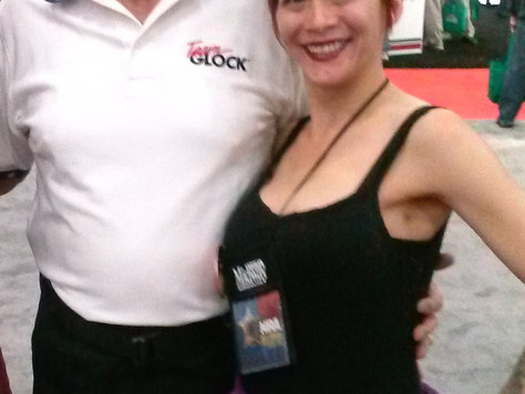 Back in 2013 at the #NRA gun show in #Houston #Texas