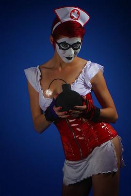 Lady Dori Belle AKA Susan MeeLing as Bat