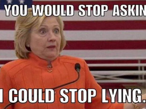 Lips are Movin' - Lies, Lies, Lies - Hillary Clinton with Meghan Trainor Compilation