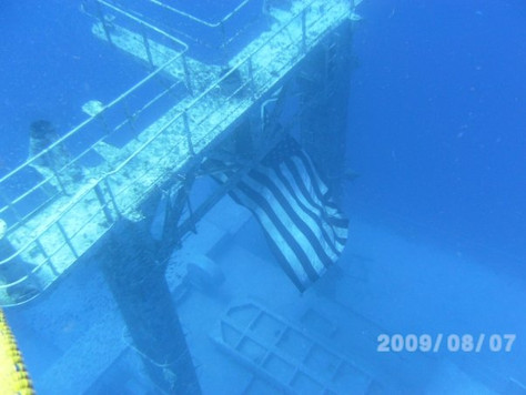 I would like to SCUBA Dive the Vandenberg again