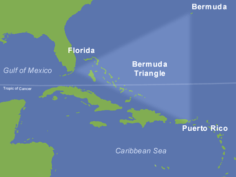 Bermuda Triangle, Hatteras Abyss, Matthias Abyss, Vandenberg, and SCUBA Diving.  Oh, my!