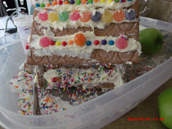 Angle of Gingerbreasd House