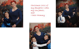 My daughter Lidia, my son James, and I C