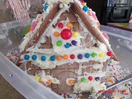 Gingerbreasd House