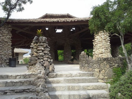 Gazebo at the Japanese area of the San A
