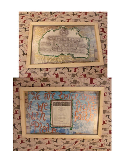 Medal of Honor Art Project By:  Susan MeeLing, Medal of Honor James Jackson, Army, Riverside Cemetery, Portland, Portland Oregon, Oregon, Medal of Honor, Medal of Honor Recipient, Medal of Honor Art, Medal of Honor Artwork, Susan MeeLing, Army
