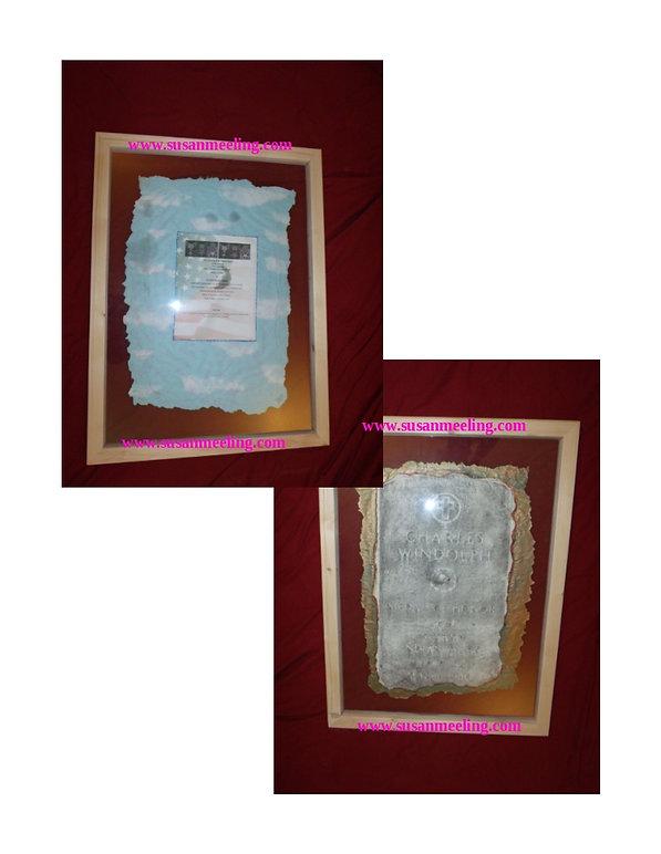 Medal of Honor Art Project By:  Susan MeeLing, Medal of Honor Art Project, Medal of Honor Charles Windolph, South Dakota, Artist Reverend Susan MeeLing, Artist Susan MeeLing, Artist Lady Dori Belle