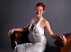 Lady Dori Belle AKA Susan MeeLing in a w