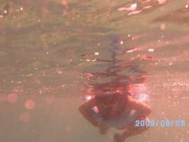 Lidia Louise snorkeling