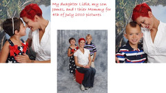 My daughter Lidia my son James and I the