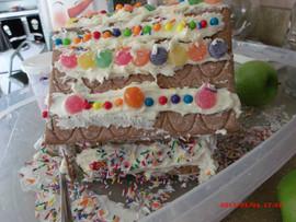 Angle of Gingerbreasd House