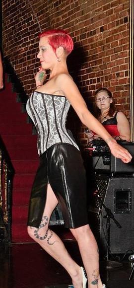 Lady Dori Belle AKA Susan MeeLing taking