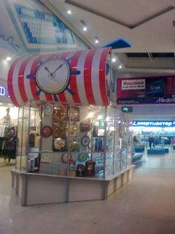 Островок для продажи часов
