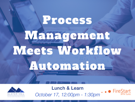 Lunch and Learn: Process Management meets Workflow Automation