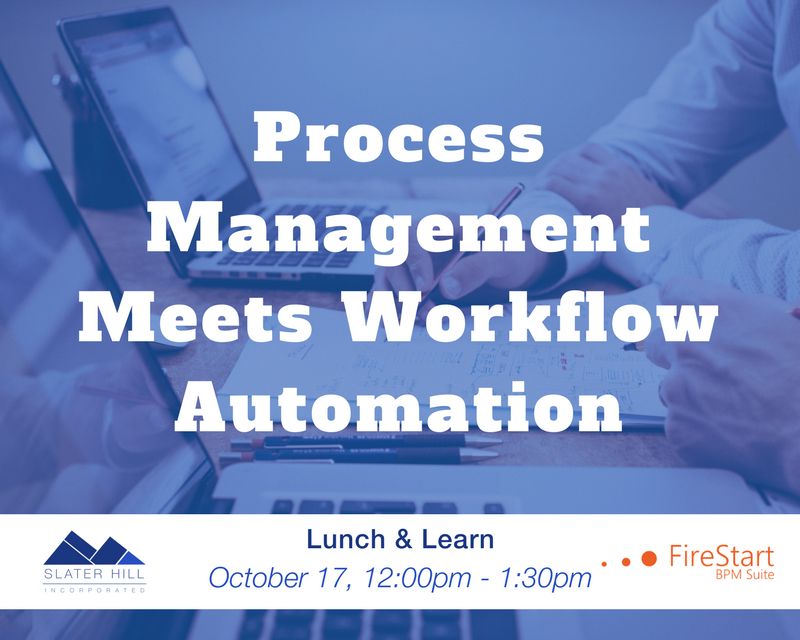 Process Management workflow automation lunch and learn 2017-10-17