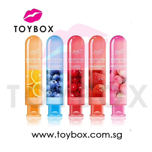 Water-Based Edible Fruits Flavoured Lubricant Sexual Anal Oral Sex