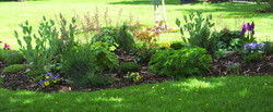 Peace Garden Flower Bed