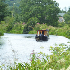 Travelling along the canal