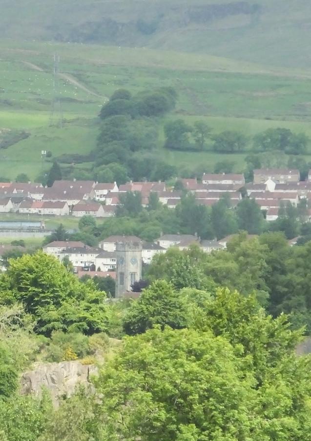Kilsyth from Nethrcroy