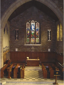 Picture of chancel area