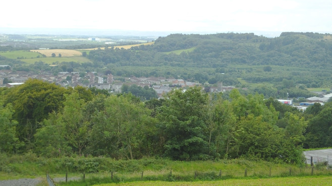 View of Kilsyth from the moors