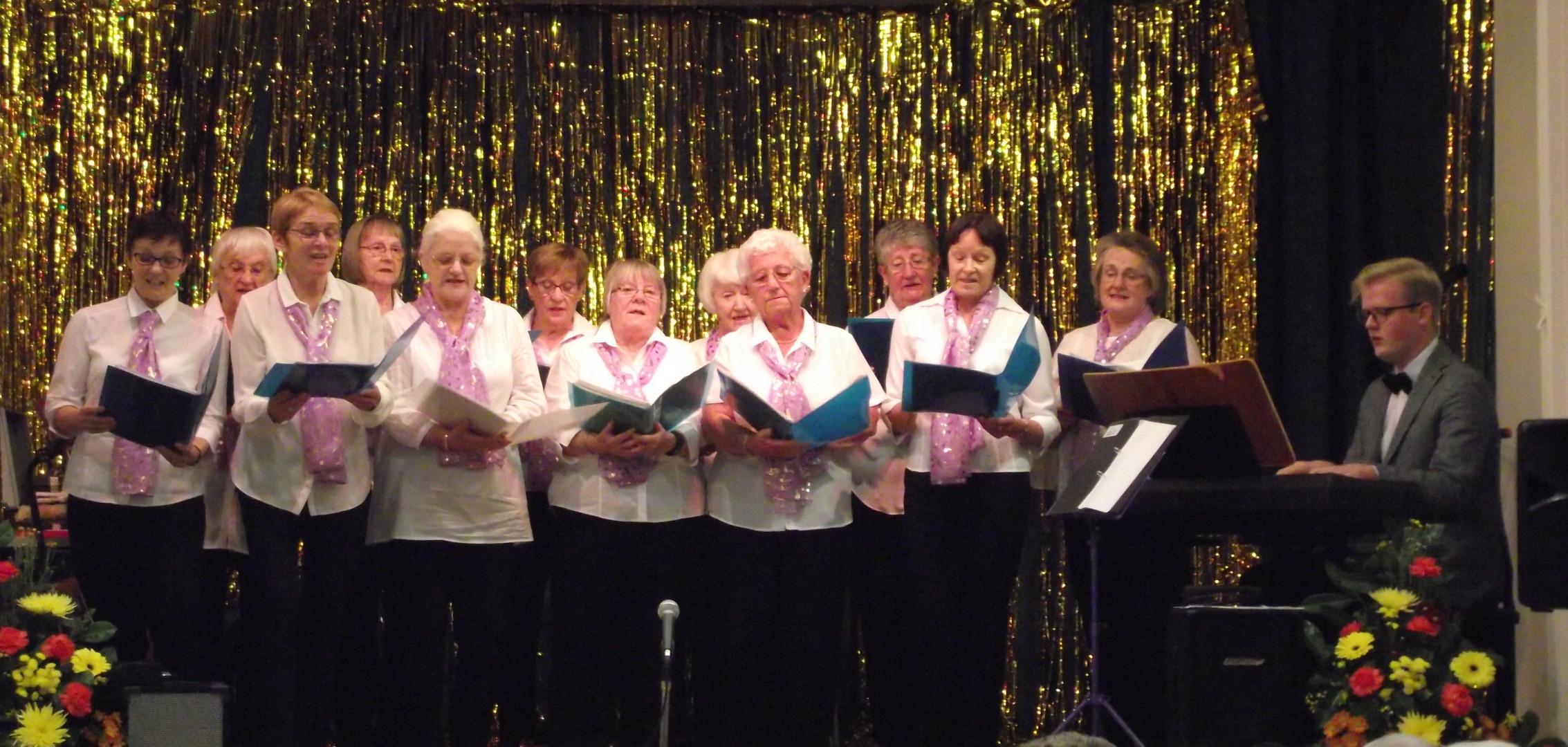 The Choir in Full Voice