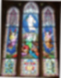 Chancel stained glass window