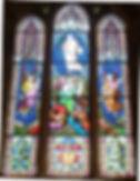 Chancel stained glass window