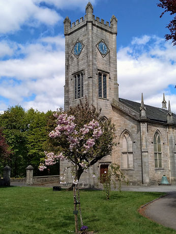 Kilsyth Burns & Old Parish Church May 20