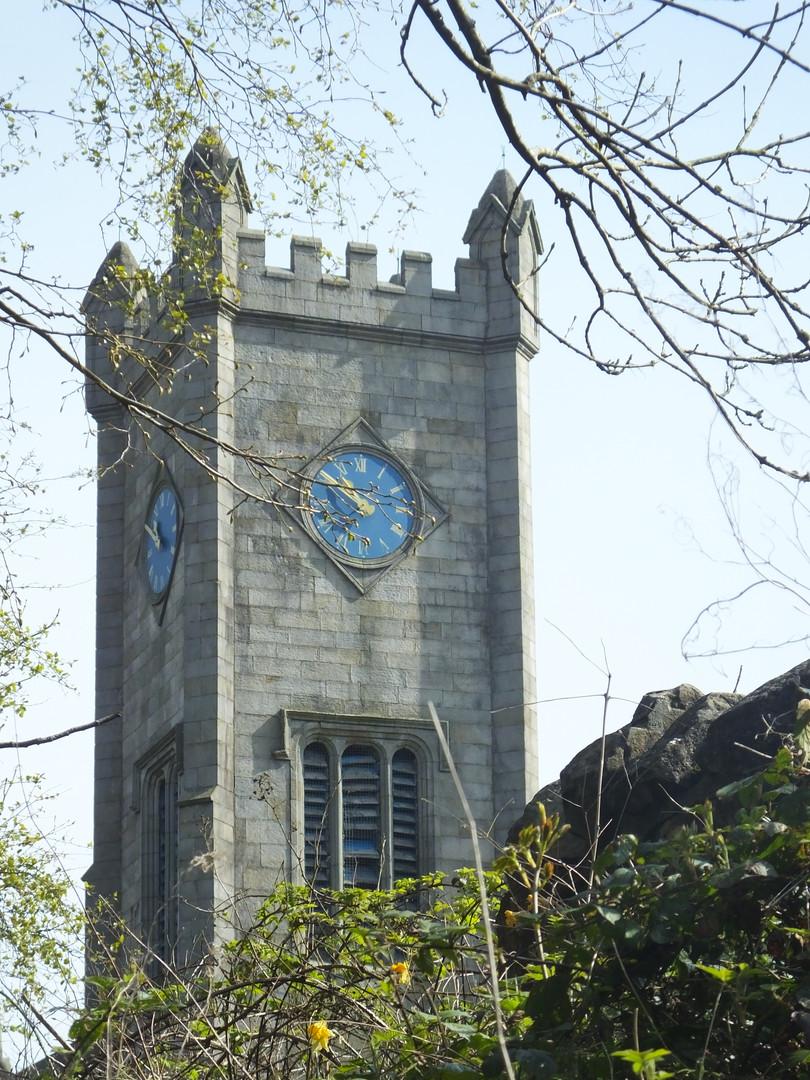 Burns & Old Church Tower