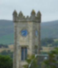 Kilsyth Burns & Old Parish Church Tower. The church was built in 1816, replacing the original which was located in Kilsyth Cemetary