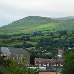 Kilsyth Primary, Church Tower and Kilsyth Hills