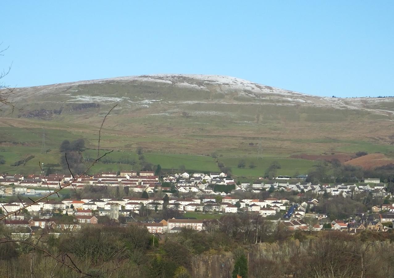 Kilsyth from Nethercroy