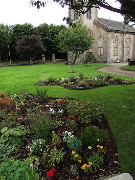 Church from Peace Garden11 Sept 21