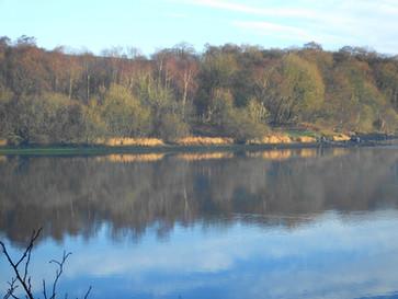 The Dam under Blue Skies 22 Dec 2020