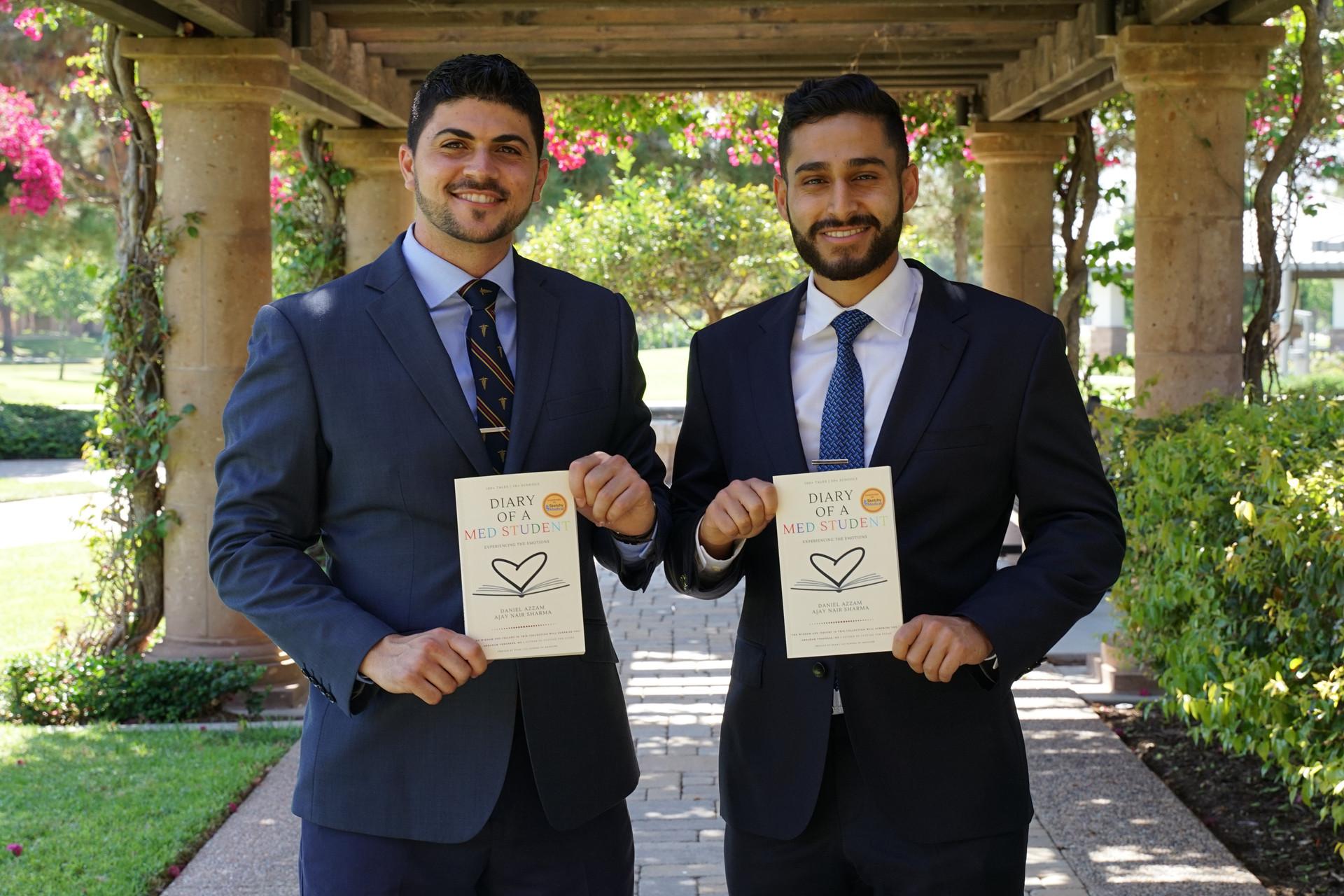 Daniel Azzam and Ajay Nair Sharma