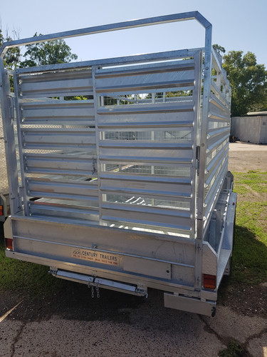 12x 6 cattle trailer