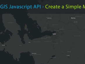 Creating a Simple Map Using the ArcGIS JavaScript API